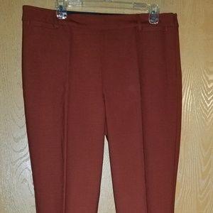 Rust Wool pants
